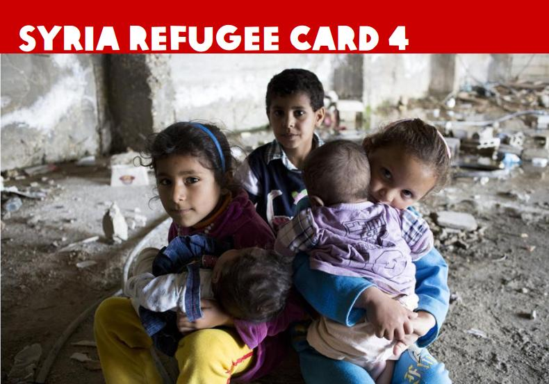 OXFAM refugee card 4